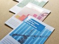 Series of A4 printed prospectuses