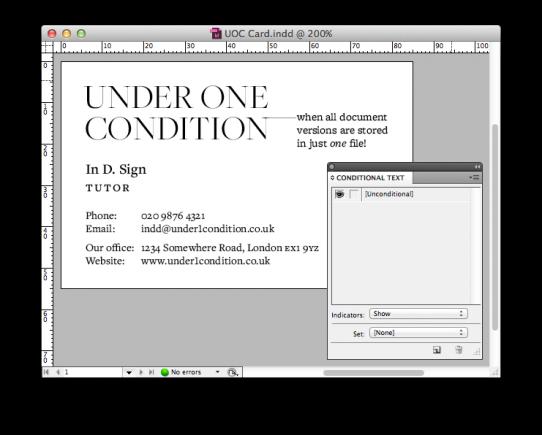 UOC Condition